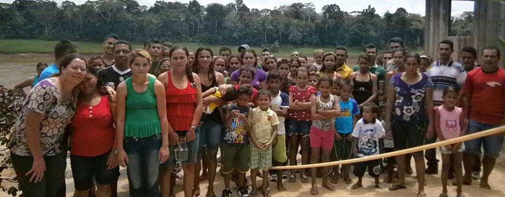 Missão Nas Curvas Do Rio Purus.