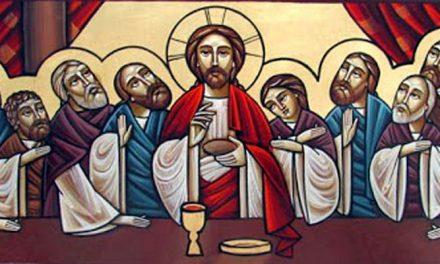 El primer Jueves Santo