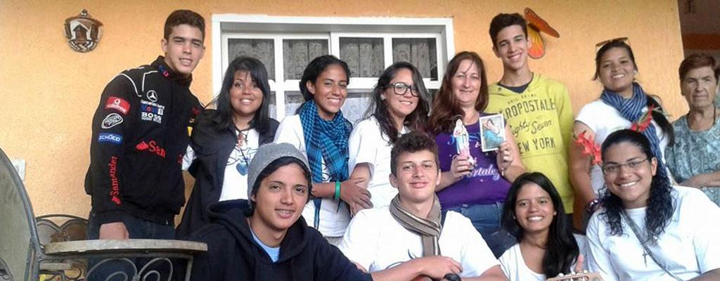 Juventudes Agustinos Recoletas en misión