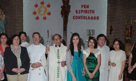 Confirmación en la Parroquia de San Fortunato