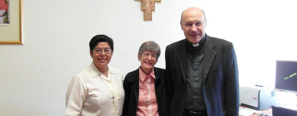 En Roma… avances en el proceso de La Hermana Cleusa Carolina Rody, MAR