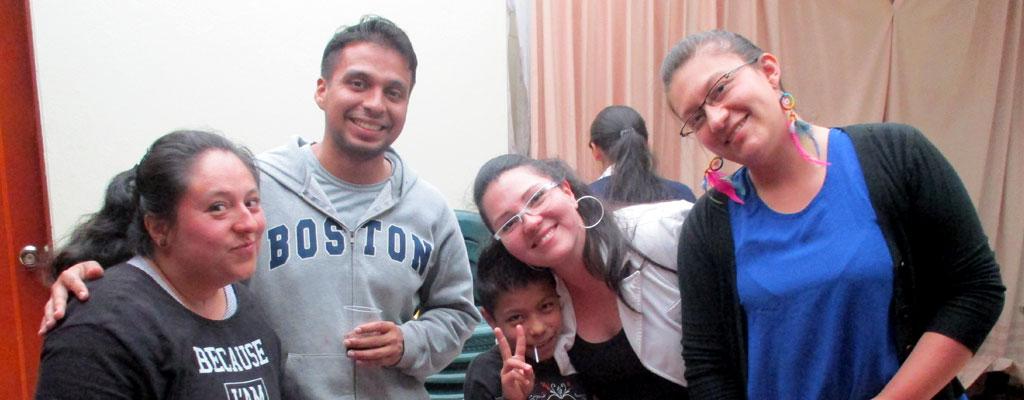Niños apadrinados del sur de Bogotá D.C.