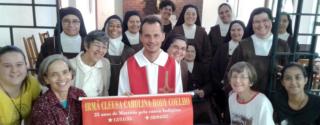 Segundo dia do Tríduo em honra  a Irmã Cleusa  32º aniversario do Martírio