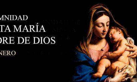 Solemnidad de María Madre de Dios