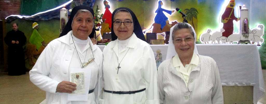 Celebración de las Bodas de Oro de nuestras hermanas