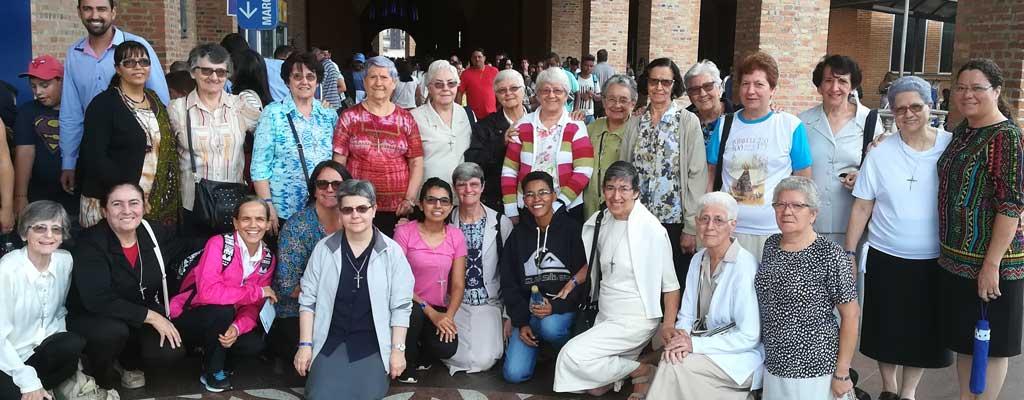Peregrinación al Santuario Nacional de Nuestra Señora de Aparecida, Patrona de Brasil
