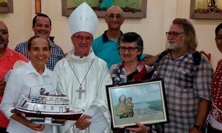 Lábrea celebra os 50 anos de Vida Religiosa das Irmãs: Itárica, Josefina e Maria Helena.