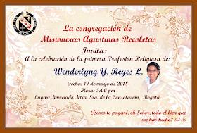 La Congregación de Misioneras Agustinas Recoletas