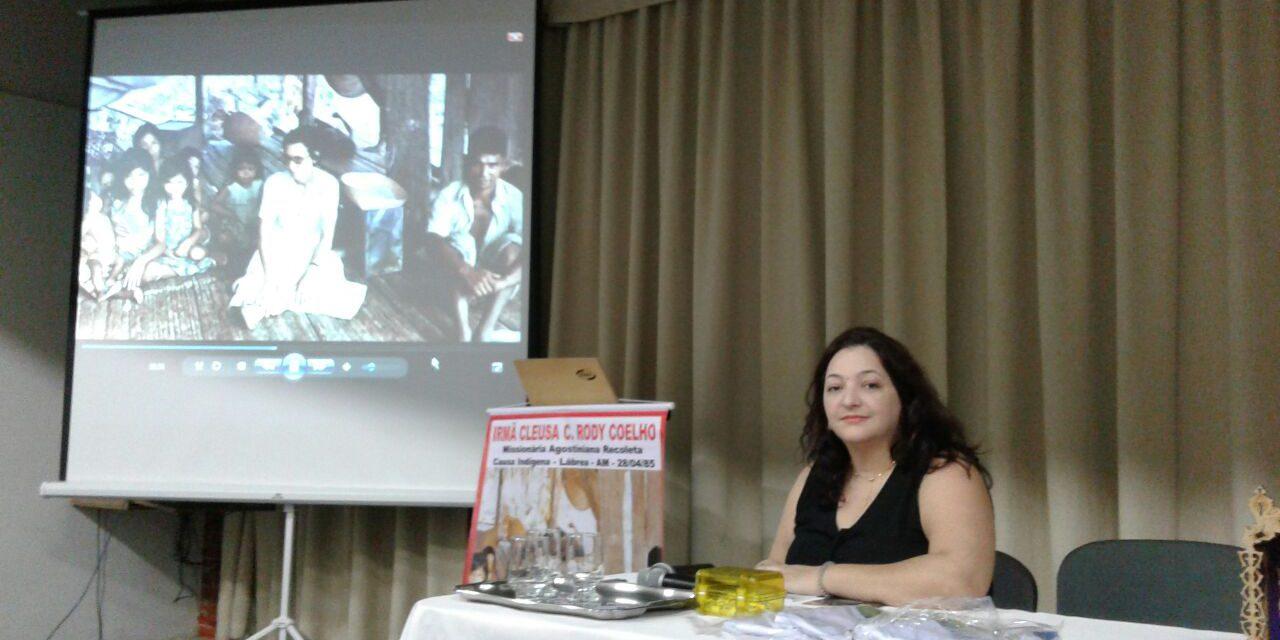 IRMÃ CLEUSA CAROLINA RODY COELHO NA IGREJA DE VITÓRIA