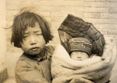 1931-35. En China. Se aprende pronto a ayudar