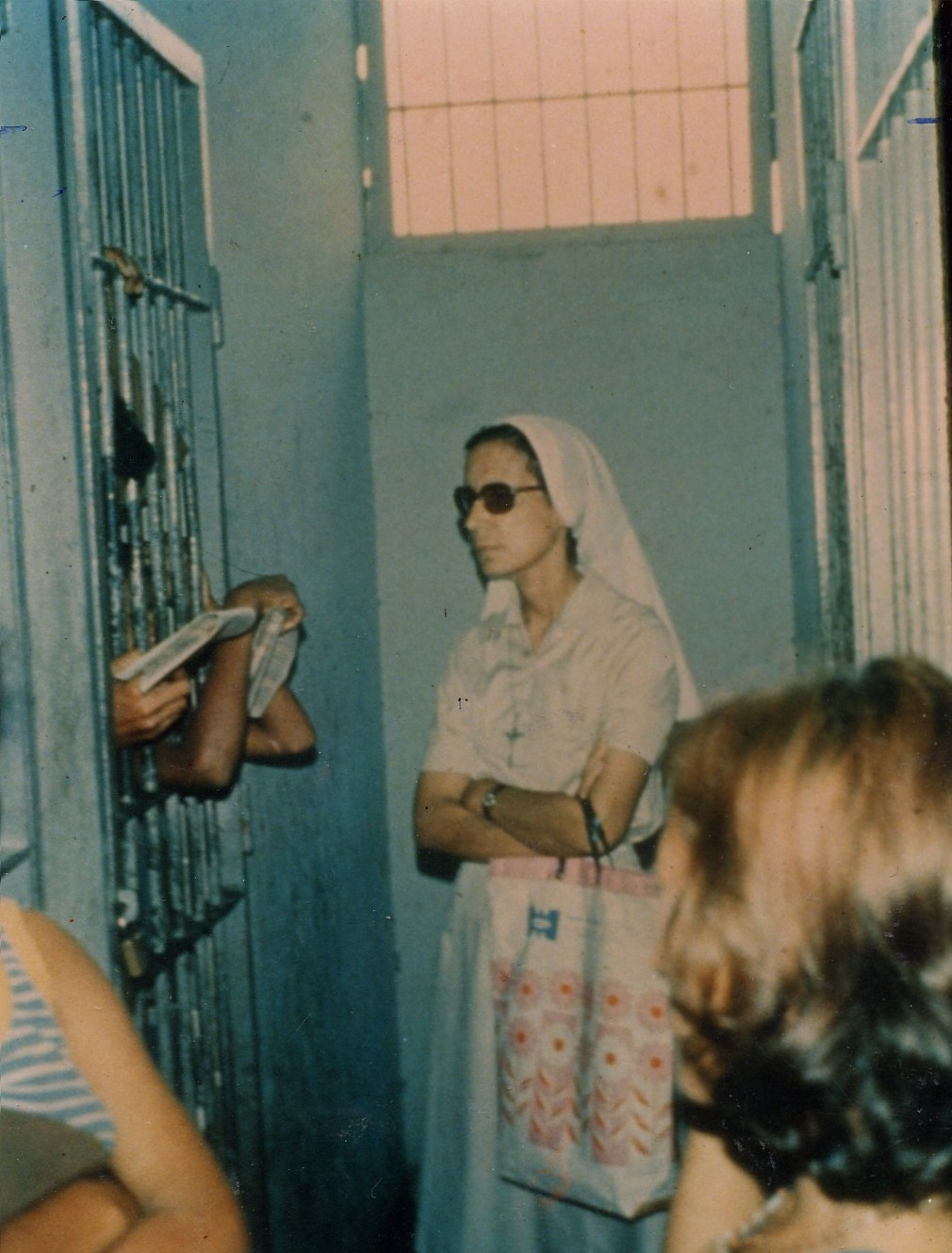 07-1974 - Manaus, visita a los presos