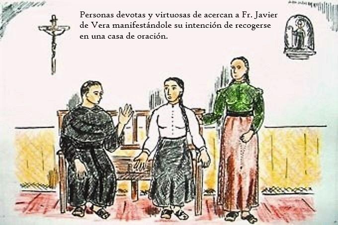 1. FR. JAVIER DE VERA Y LAS PRIMERAS BEATAS RECOGIDAS