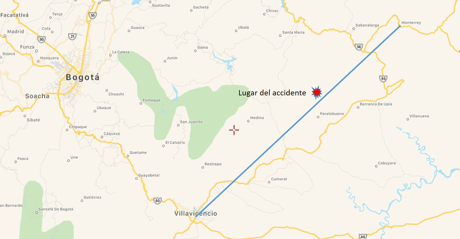 MAPA ACCIDENTE