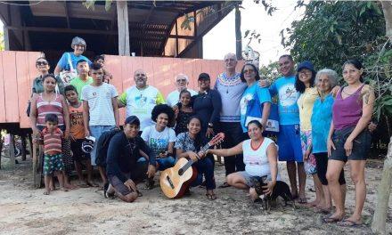 MISSA DE AÇÃO DE GRAÇAS PELO TRABALHO NA PAROQUIA NOSSA SENHORA DE NAZARÉ