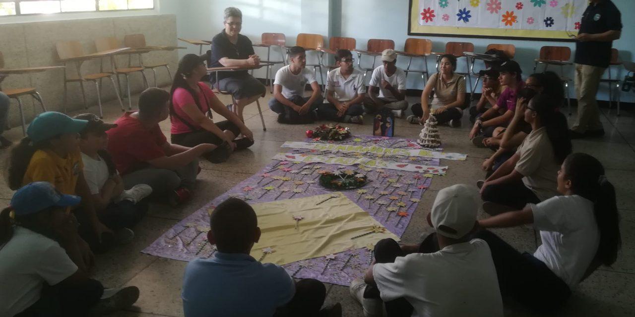 VISITA GENERAL EN LA COMUNIDAD DEL COLEGIO SANTA RITA: FORTALECIENDO NUESTRA IDENTIDAD MAR