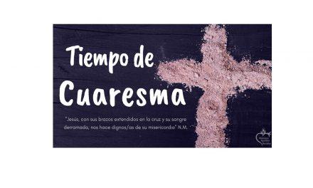 MENSAJE DE CUARESMA
