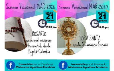 ROSARIO MISIONERO Y HORA SANTA VOCACIONAL
