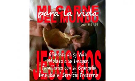 LECTIO DIVINA. SANTÍSIMO CUERPO Y SANGRE DE CRISTO