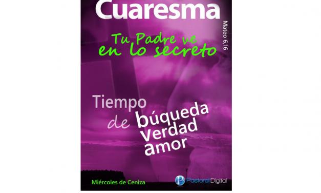 CIRCULAR DE CUARESMA