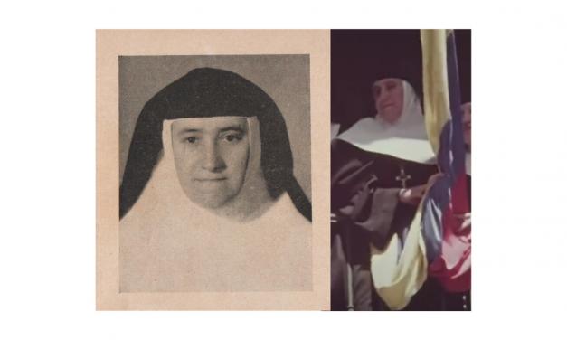 Sor María Elvia Santa y John F. Kennedy