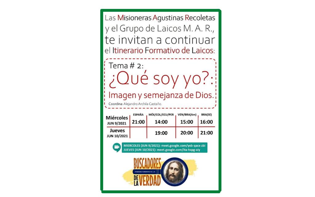 INVITACIÓN AL II ENCUENTRO DE LAICOS
