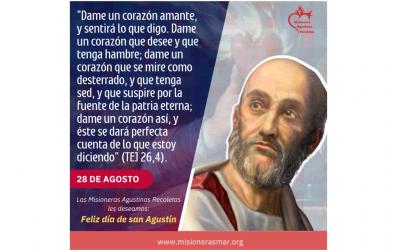 FELIZ DÍA DE SAN AGUSTÍN