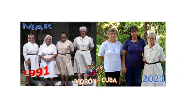 Nuestra presencia MAR en CUBA durante 30 años